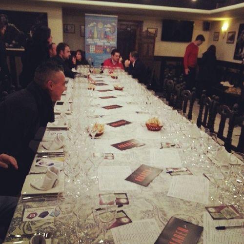 Todo preparado para la última etapa del Wineuptour en su 14 Edicion en Córdoba @BodegasMezquita