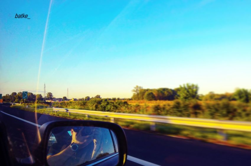 Transportation Car Mode Of Transport Blue Travel Road Journey Land Vehicle Clear Sky Sky Day Driving Nature