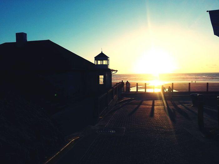 The boardwalk Nye Beach Oregon. Galaxy S3. My Scenery My Photo Album ♡