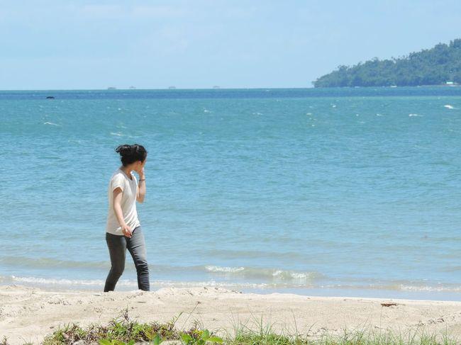 Exploreindonesia Exploreborneo Kotabaru Kalimantanselatan INDONESIA Beach Enjoying Life