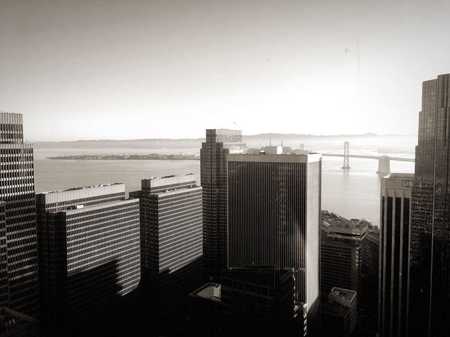 SF city views Skyscraper Growth No People
