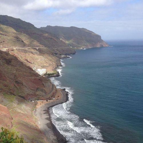 Taking Photos Tenerife Ocean View Ocean Blue Water Blue Sky