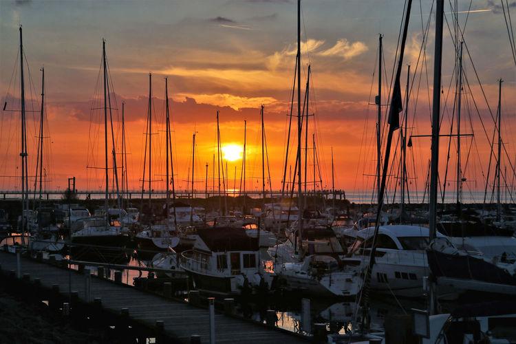 Sunset Nautical