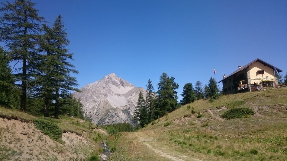 Mountain Alpenpanorama Chaberton