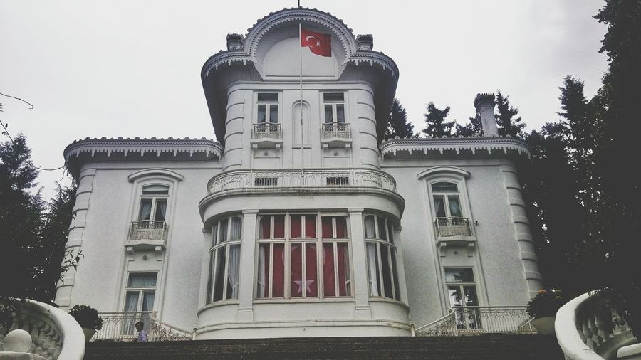 Atatürk Köşkü Trabzon Turkey  Politics And Government City History Old-fashioned Sky Architecture Building Exterior Built Structure
