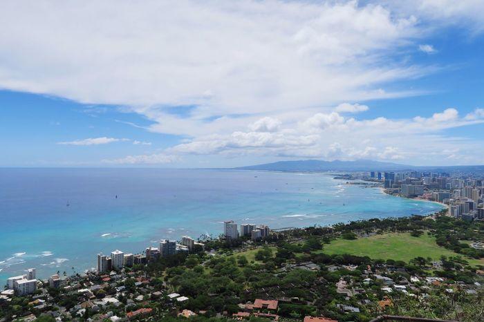 Sea Diamondhead Hawaii Sky EyeEmNewHere