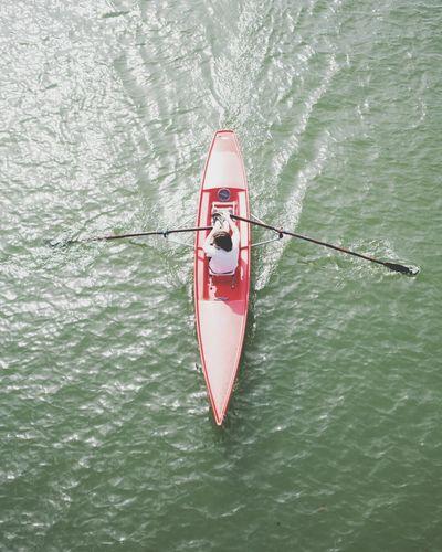 rameur Canoe