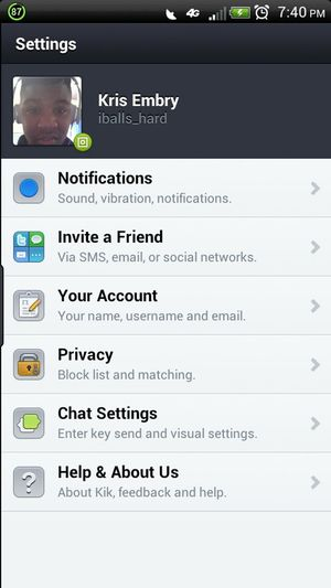 Kik Me ! With A Convo