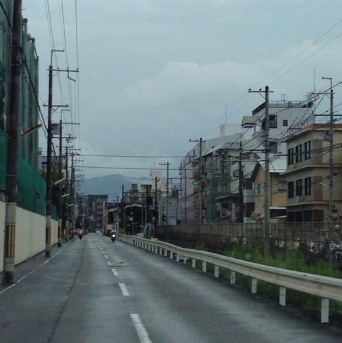 嵐電 この嵐電北野線の横につながってるさ道を今出川通と認識してない人は多い。