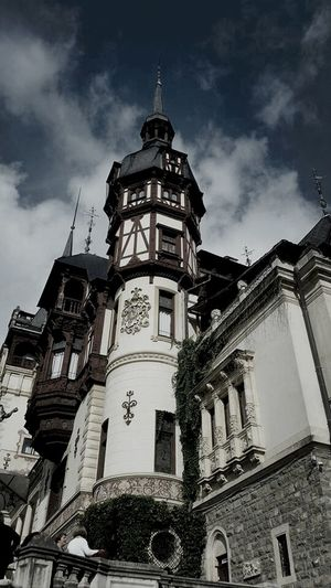 Castle Architecture Peles Romania