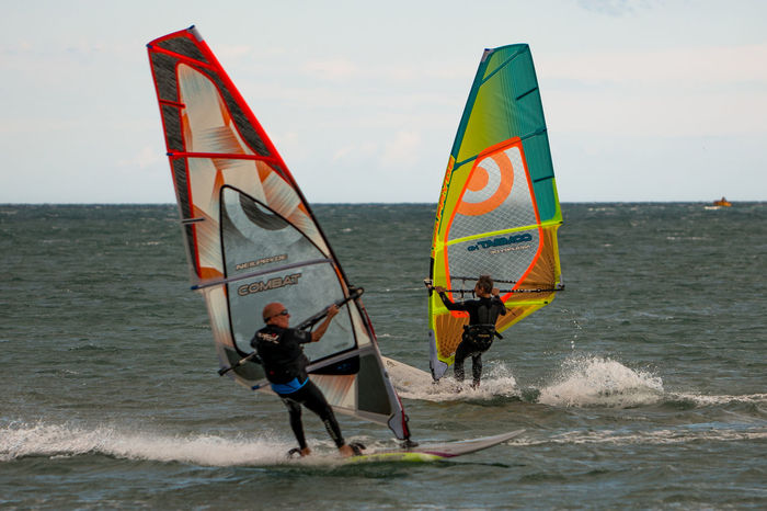 Beach Fitougraphie Laurent Vankilsdonk Outdoors Sailboard Sailboarding Sea Sport Sports Photography Surfing Two People Vacations Water