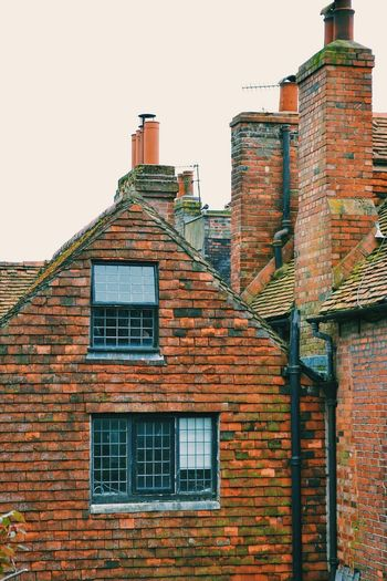 Brighton England Architecture Brick Wall Window No People House Cloudy Sky Roof Town