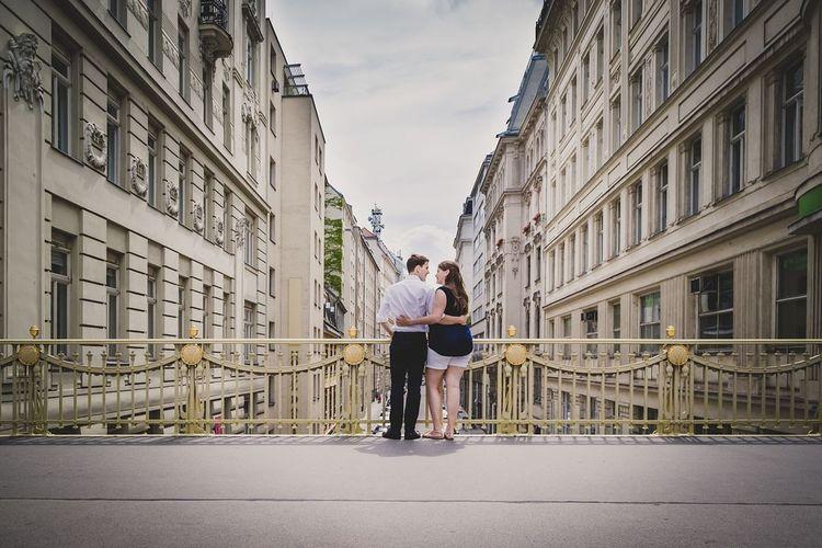 View Aussicht Love Liebe Couple Paar Couple Photography Ultralicht Ultralicht Fotografie Paarfotografie Outdoor Vienna Austria Österreich Wien Brücke Bridge Hohe Brücke
