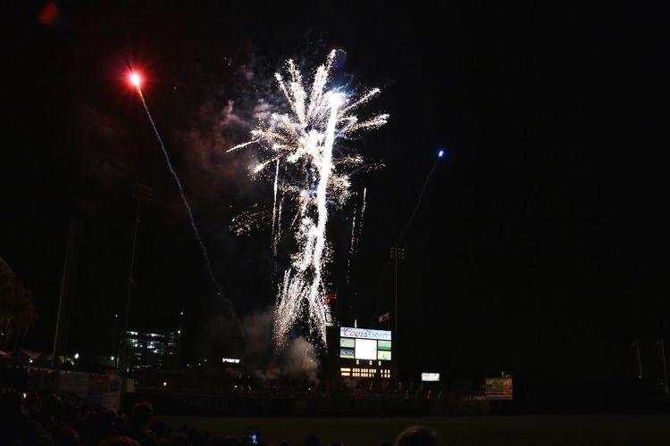 Baseball Stockton Fireworks
