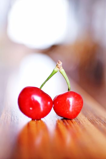 Food Fruit Healthy Eating Food And Drink Close-up Red Freshness Indoors  Table Wellbeing Tomato Vegetable Still Life Cherry No People Focus On Foreground Wood - Material Ripe Selective Focus Plant Stem