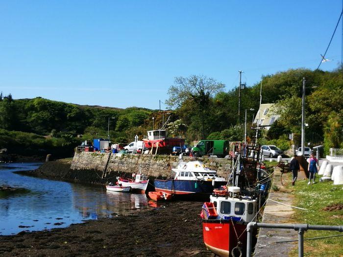 Ireland🍀 Clifden Connemara Galway,ireland Nature Photography Marine Photography Boats⛵️ Blue Sky