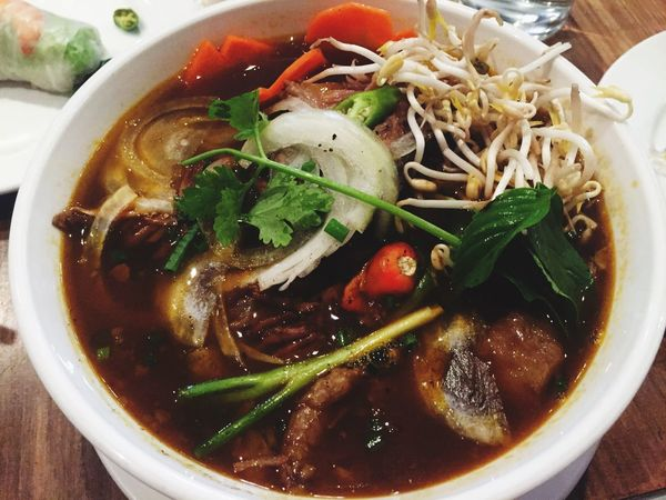 Vietnamese Food Soup Yummy Delicious Pho Soup Beef Flavorsoftheworld