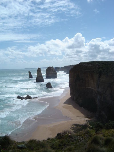 12 Apostles Beach Beauty In Nature Nature No People Outdoors Sea Sky The Purist (no Edit, No Filter) Traveling Home For The Holidays