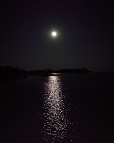 Moon Fullmoon Moonlight The Moon And The Sea MaghaPujaDay Reflection Outdoors Nature Scenics Beauty In Nature Sky Night