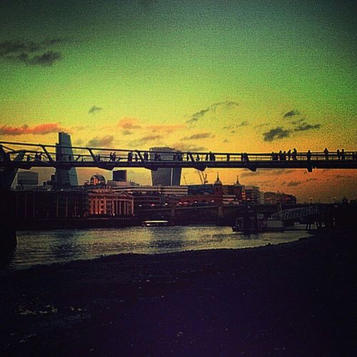 Blackfriars London Blackfriars Bridge First Eyeem Photo Millenium Bridge River Thames The River Thames Bankside Londonlife