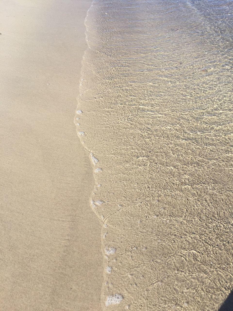 Close-Up Of Sand On Beach