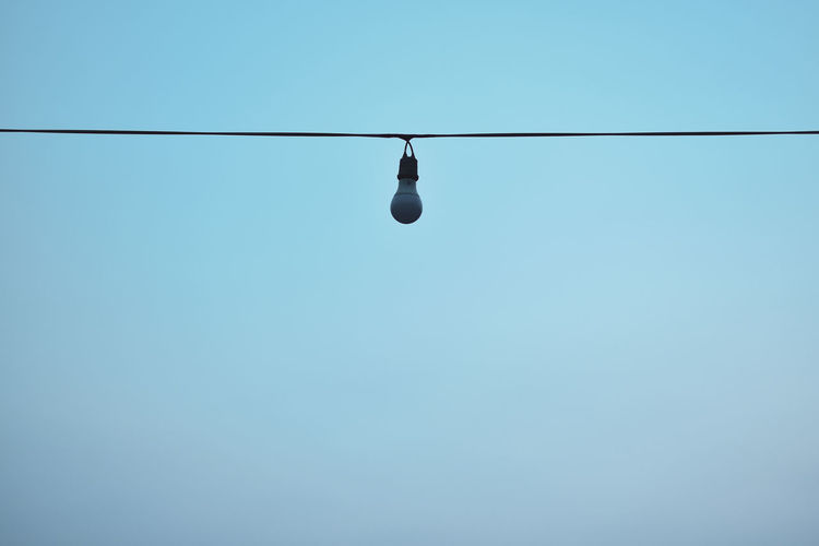 Wires and bulbs
