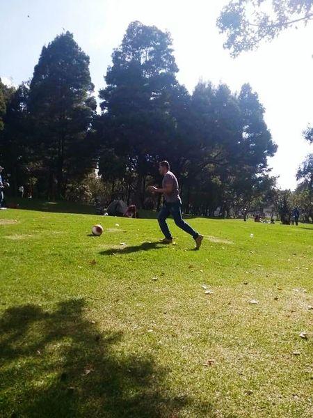 Balon Futbol Parque  Airelibre ActividadFísica