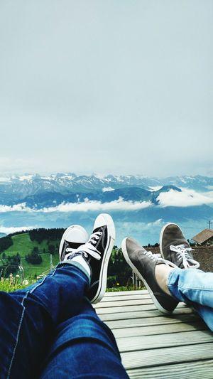 Mountains Relaxing Switzerland Swiss Alps Walking Around Converse Laying Around