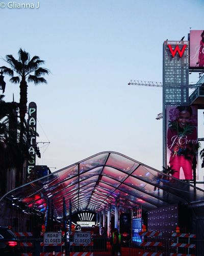 Long shot of the Star Wars Rogue One red carpet tent, the night before the premiere event. Arts Culture And Entertainment Sky Sunset Fresh On Eyeem  RogueOne Rogue One Star Wars Building Exterior Structure Colorful Los Angeles, California Fresh On Eyeem