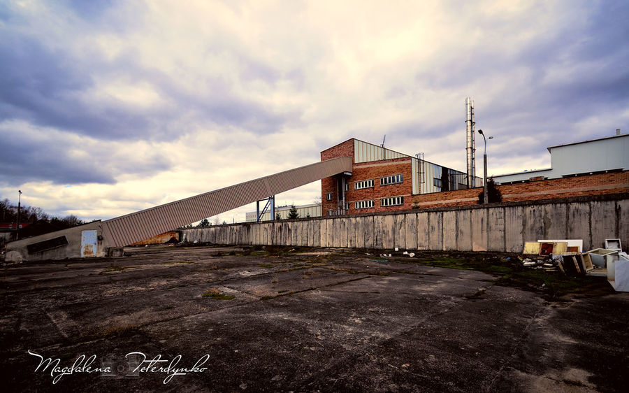 Architecture Building Exterior Built Structure Cloud - Sky Cloudy Day Industry Magdalena Teterdynko Photo Photography Residential Structure Sky