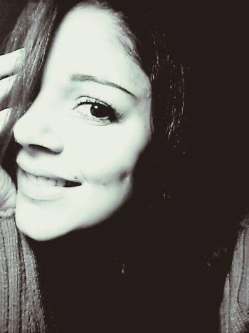 Smile ✌ Black & White Goodmorning Eyes