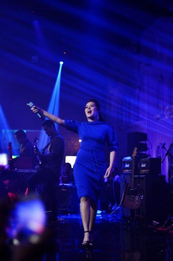 Raisa Events Music Musician Stage - Performance Space Stagephotography Indonesia_artist Performance