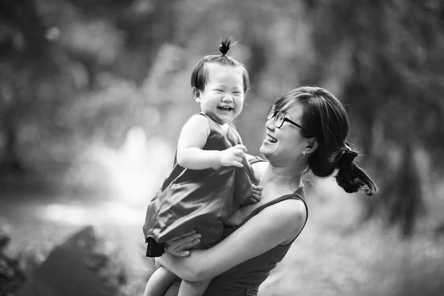 Blackandwhite Photography Canon Portrait Monochrome The Human Condition Black And White Family Happiness Looking Into The Future We Are Family