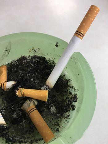 Ashtray  Cigarette  Freshness Man Made Object Messy No People Smoking Smoking Cigarettes.
