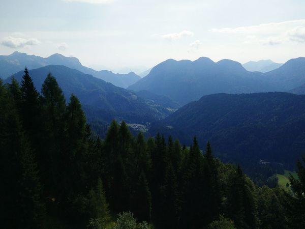 Panorama Sauris High Mountains Carnia