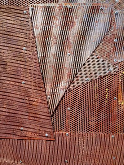 Sheet steel rust Backgrounds Textured  Brown Red Link Hole Abstract Bolts Colour Of Life Pattern Iron Zine Vamp