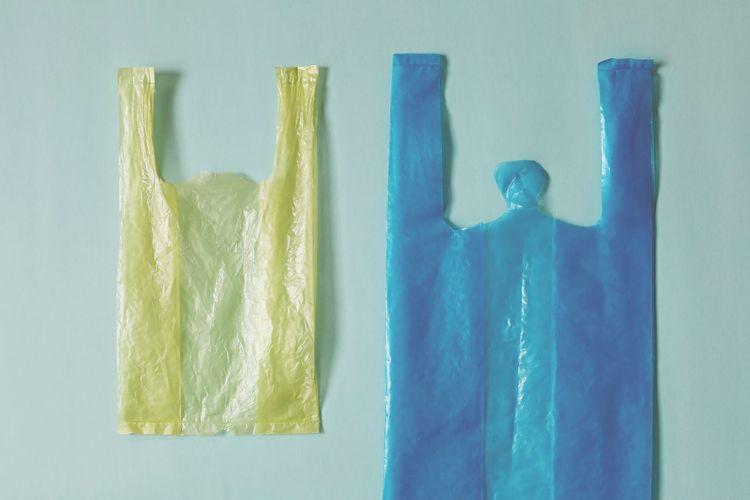 Empty plastic