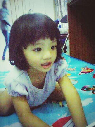 My sister...