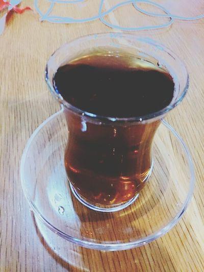 Hving a Turkish çay