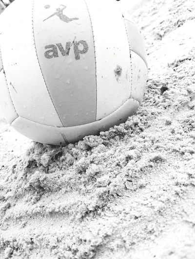 Black And White Volleyball Rain Avp Volleyball❤ Volleyball Avp Rain Volleyball - Sport Volleyball❤ Sand Beach Close-up
