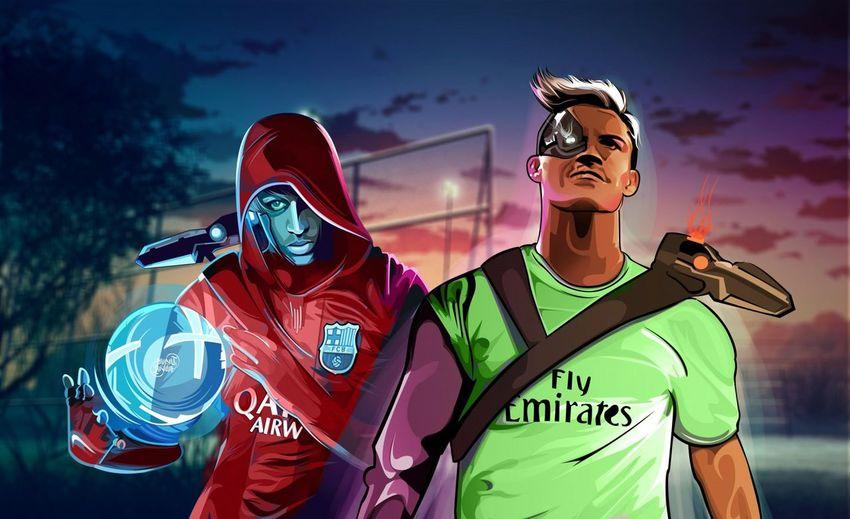 Football Football Fever Football Life Footballislife NeymarJr♥ Ronaldo And Neymar Ronaldo Cr7 Ronaldo W/ Neymar Sports Team