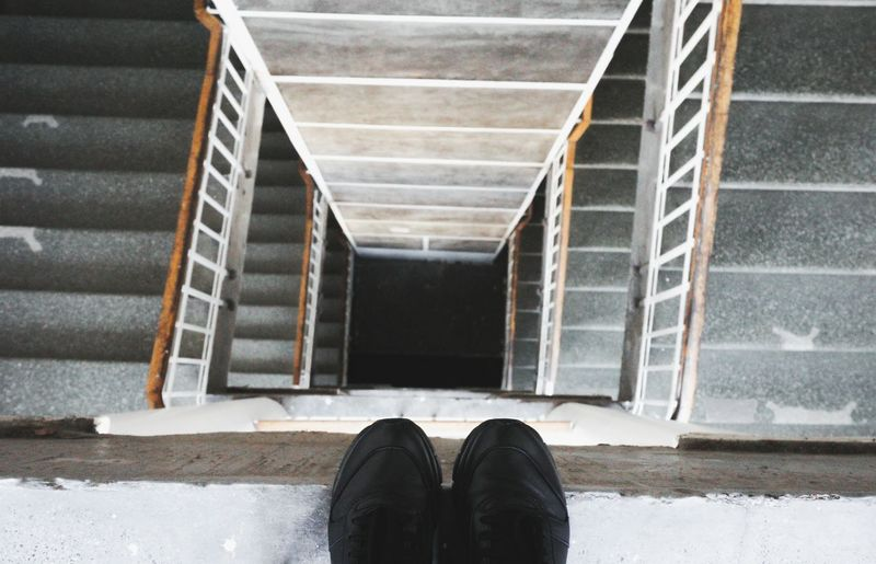 Stairs Feet Feetselfie Minimal Minimalism Abstract Still Life Showcase March EyeEmBestPics Simplicity Deceptively Simple Learn & Shoot: Balancing Elements Getting Inspired EyeEm Masterclass From My Point Of View Architectural Detail Looking Down Building Feets Concept Conceptual