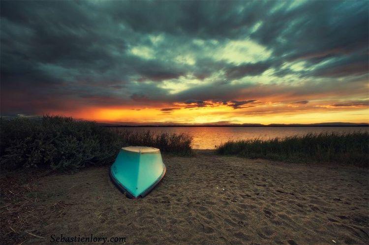 Seascape Sunset Sea Beach Photography Dark Canon Canon6d Taking Photos Boat Nightphotography