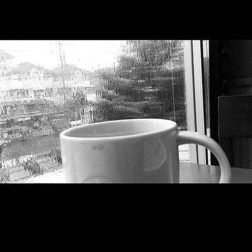 Rain Hot Hotcoffee Starbucks Bangkok Thailand
