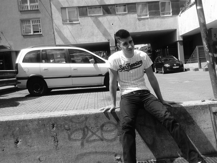 San Francisco in Berlin. Youth Streetphoto_bw