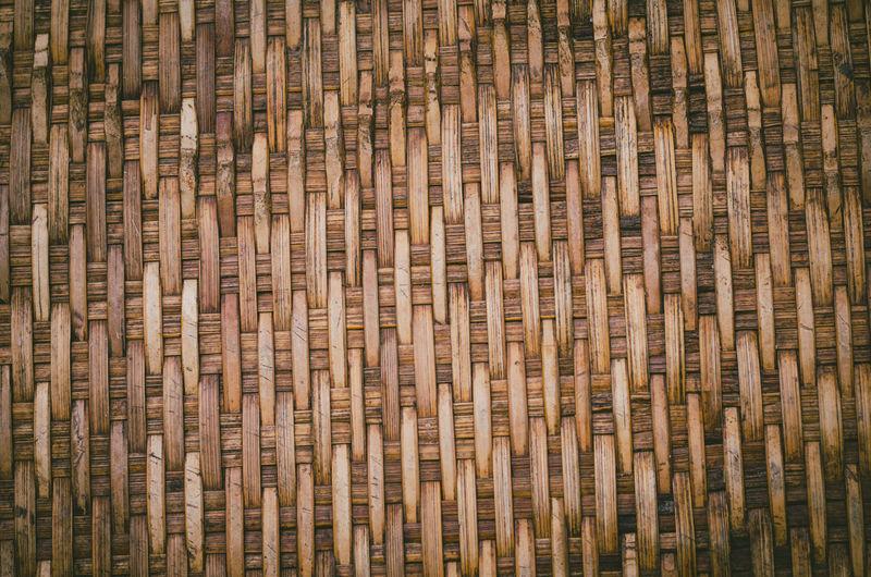 Bamboo pattern background Lines Rural Skill  Weave Art Art And Craft Backgrounds Bamboo Bamboo - Material Basket Brown Craft Creativity Design Full Frame Handwork Interlace Knowledge Pattern Rough Textured  Wicker Wood Wood - Material Wood Grain