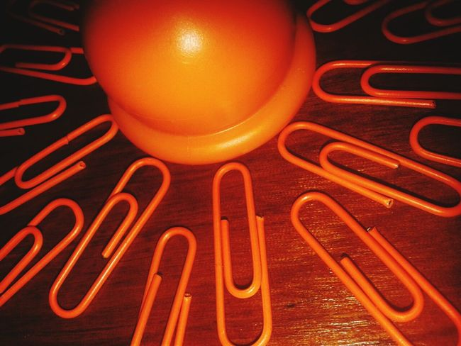 Orange Orange By Motorola Clips Paperclips Colormehappy Naranjo Chile Picoftheday