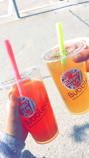 Love it❤️💛 Bubbletea Bubbleology WithBFF Colourful Red Yellow Soyummy Sweet Sogood Love It Prague Trip Shopping Happygirls Perfect Excitedtosummer Hot Czech Greatday Lovely Likeforlike Follow4follow Like4like L4l