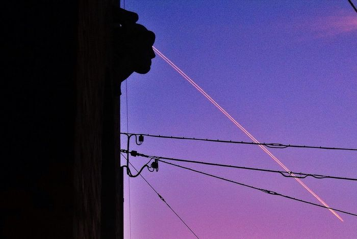 rays Power Lines Rays Schattenspiel  The Illusionist - 2014 EyeEm Awards