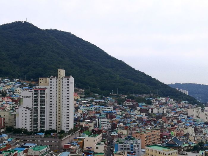 Been There. Done That. City Cityscape Architecture Mountain Skyscraper Business Finance And Industry Building Exterior City Life Downtown District Outdoors Urban Skyline Travel Destinations Day Residential Building No People Built Structure Modern Sky Busan Gamcheon Culture Village EyeEm EyeEm Best Shots Cultural Tourism